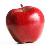 jabłka owocowa liść czerwień zdjęcia stock