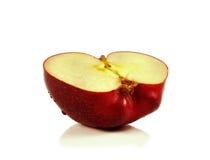 jabłka tła używania żywności odizolowane materiałami white Zdjęcia Stock