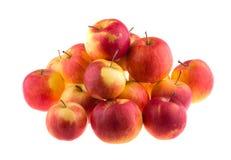 jabłka tła używania żywności odizolowane materiałami white Jedzenie Obrazy Stock