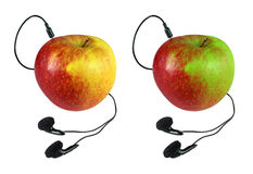 jabłko łączący Obrazy Royalty Free