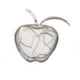 jabłko łamający szkło ilustracji