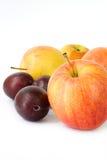 jabłko śliwki Obrazy Royalty Free