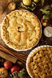 jabłko ciasta domowej roboty obrazy royalty free