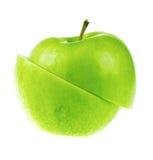 jabłko cutted świeży zdjęcie stock