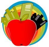 jabłko duży Fotografia Royalty Free