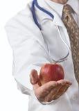 jabłko dziennie Zdjęcie Royalty Free