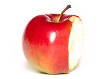 jabłko gryźć Fotografia Stock