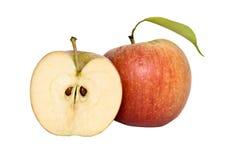 jabłko krzyż swój sekcja zdjęcia stock