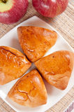 jabłko kulebiaki wyśmienicie domowej roboty Fotografia Stock