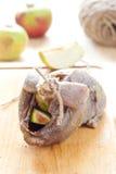 jabłko kuropatwa faszerująca rozwiązującą Zdjęcie Royalty Free
