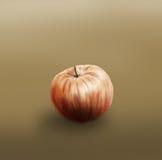jabłko malujący pojedynczy Zdjęcia Stock