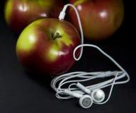 jabłko mp3 zdjęcie stock