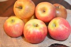 Jabłko owoc czerwień świeża Fotografia Stock