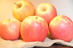 Jabłko owoc czerwień świeża Zdjęcie Stock