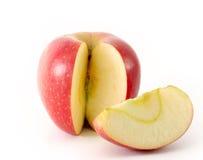 jabłko plasterek zdjęcie stock