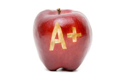 jabłko plus zdjęcia stock