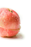 jabłko pokrajać Zdjęcia Royalty Free