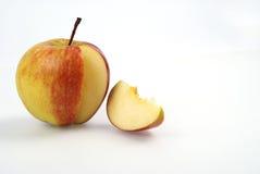 jabłko pokrajać Obraz Royalty Free