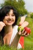 jabłko pretty woman Zdjęcie Royalty Free