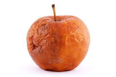 jabłko przegniły obrazy stock