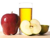 jabłko sok świeży szklany fotografia royalty free