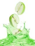 jabłko sok zdjęcie stock