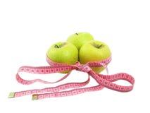 jabłko taśma Zdjęcia Royalty Free