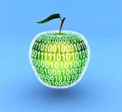 jabłko wirtualny Obrazy Stock