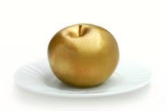 jabłko złoty Zdjęcie Royalty Free