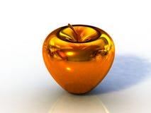 jabłko złoty Obrazy Royalty Free