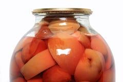 jabłko zakonserwowany Zdjęcie Stock