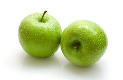 jabłko zieleń Zdjęcie Royalty Free