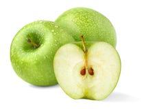 jabłko zieleń Zdjęcia Stock