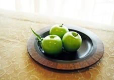 jabłko zieleń obraz stock