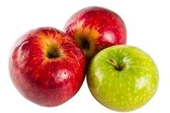 jabłko - zielenieje czerwień Obrazy Stock