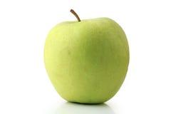 jabłko - zielony występować samodzielnie Obrazy Royalty Free
