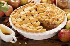 jabłkowe ciasto domowej roboty zdjęcie stock
