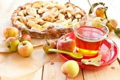 jabłkowe ciasto domowej roboty Obraz Stock