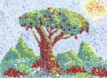 jabłoń royalty ilustracja