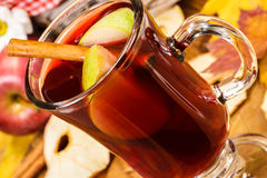 Jabłczana herbata obrazy royalty free