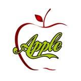 Jabłczana ikona Obraz Stock
