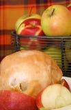 jabłczana knedel Zdjęcia Royalty Free
