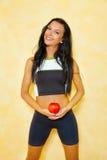 jabłczana kobieta Obraz Royalty Free