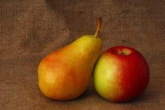jabłczana pear Zdjęcia Stock