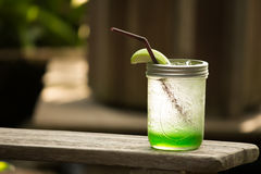 Jabłczana soda Zdjęcie Stock