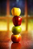 Jabłczana Sterta zdjęcie stock