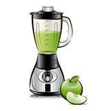 jabłczanego blender koloru rysunkowa soku kuchnia Obrazy Stock