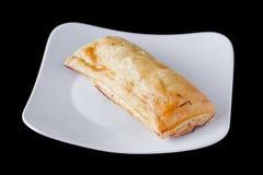 Jabłczanego kulebiaka fast food Zdjęcie Royalty Free