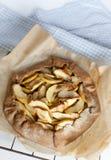 Jabłczanego kulebiaka galette tarta Obraz Royalty Free