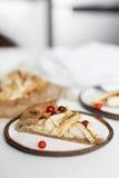 Jabłczanego kulebiaka galette tarta Obrazy Royalty Free